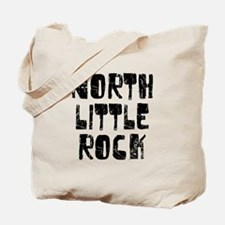 North Little.. Faded (Black) Tote Bag