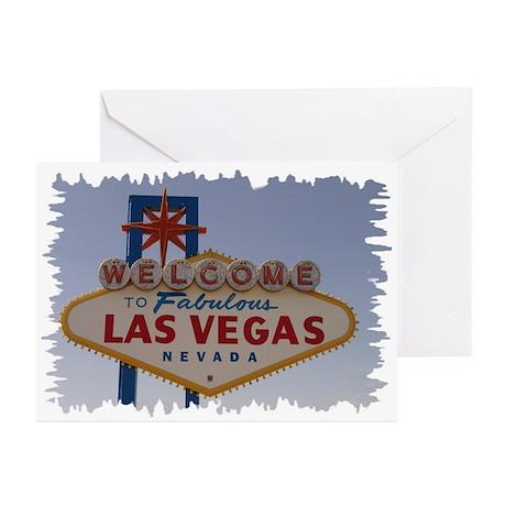 Las Vegas Sign Greeting Cards (Pk of 10)
