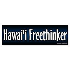 Hawaii Freethinker Bumper Bumper Sticker