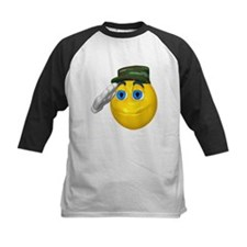Saluting Soldier Face Tee