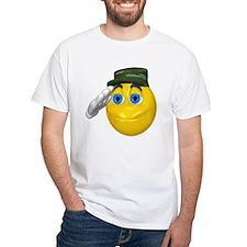 Saluting Soldier Face Shirt