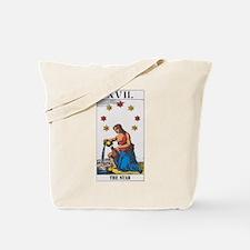 Cute Star tarot Tote Bag