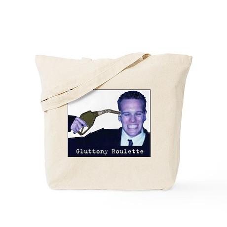 Gas Glutton Roulette Tote Bag