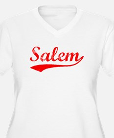 Vintage Salem (Red) T-Shirt