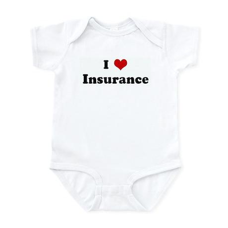I Love Insurance Infant Bodysuit