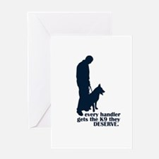 Every Handler.... Greeting Card