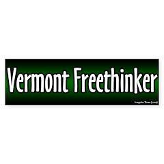 Vermont Freethinker Bumper Bumper Sticker
