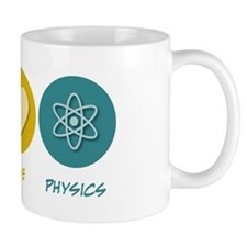 Peace Love Physics Mug