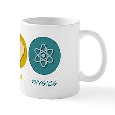 Peace Love Physics Small Mug