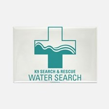 K9 Crosses - Water search Rectangle Magnet