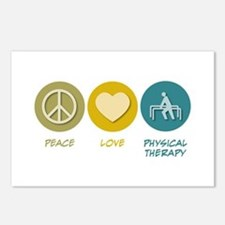 Peace Love Physical Therapy Postcards (Package of