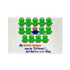Different FROGS 1 (Nephews) Rectangle Magnet