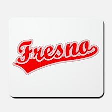 Retro Fresno (Red) Mousepad