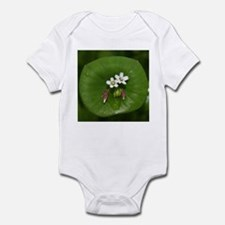 Miner's Lettuce Flowers Infant Bodysuit