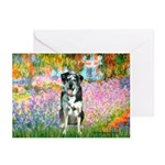 Garden / Catahoula Leopard Dog Greeting Cards (Pk