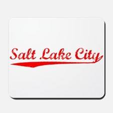 Vintage Salt Lake .. (Red) Mousepad