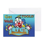 Masons Get Well Tool Kit Greeting Cards (Pk of 10)
