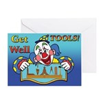 Masons Get Well Tool Kit Greeting Card