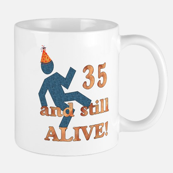 35 And Still Alive Mug