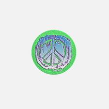 Peace Puzzle Mini Button