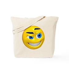 Up to No Good Face Tote Bag
