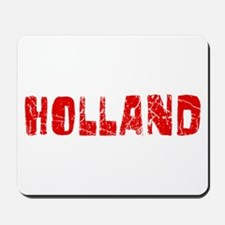 Holland Faded (Red) Mousepad