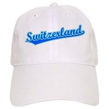 Retro Switzerland (Blue) Cap