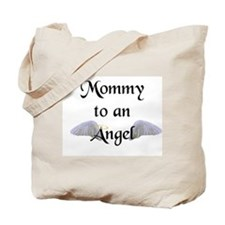 Mommy To An Angel Tote Bag