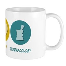 Peace Love Pharmacology Mug