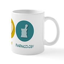 Peace Love Pharmacology Mug