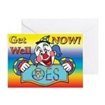 OES Get Well Greeting Card
