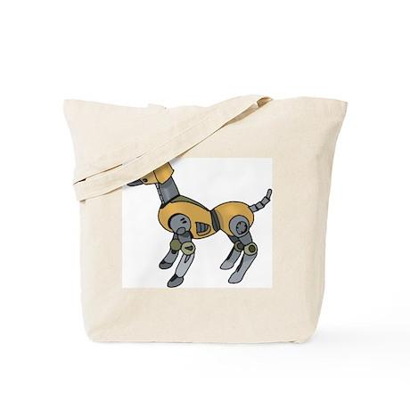 Robotic Dog Tote Bag
