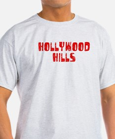 Hollywood Hi.. Faded (Red) T-Shirt