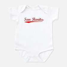 Vintage San Benito (Red) Infant Bodysuit