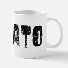 Novato Faded (Black) Mug