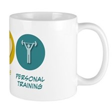 Peace Love Personal Training Mug