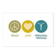 Peace Love Personal Training Postcards (Package of
