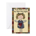 Country Angel Greeting Cards (Pk of 10)