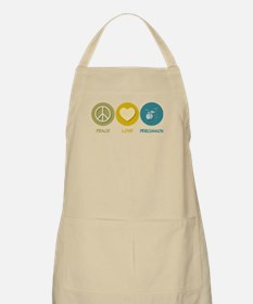 Peace Love Percussion BBQ Apron