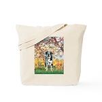Spring / Catahoula Leopard Dog Tote Bag