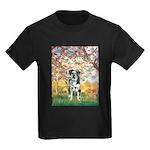 Spring / Catahoula Leopard Dog Kids Dark T-Shirt