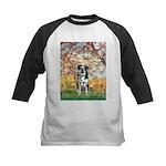 Spring / Catahoula Leopard Dog Kids Baseball Jerse