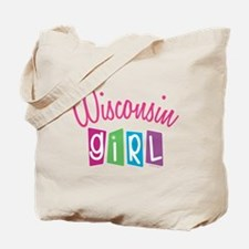 WISCONSIN GIRL Tote Bag