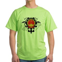 Stylish China Green T-Shirt