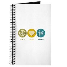 Peace Love Parks Journal