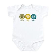 Peace Love Parks Infant Bodysuit