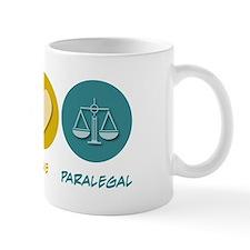 Peace Love Paralegal Mug