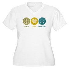 Peace Love Paralegal T-Shirt