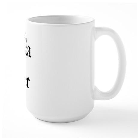 Will Polka For Beer Large Mug