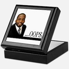 OOPS Kwame Kilpatrick Keepsake Box